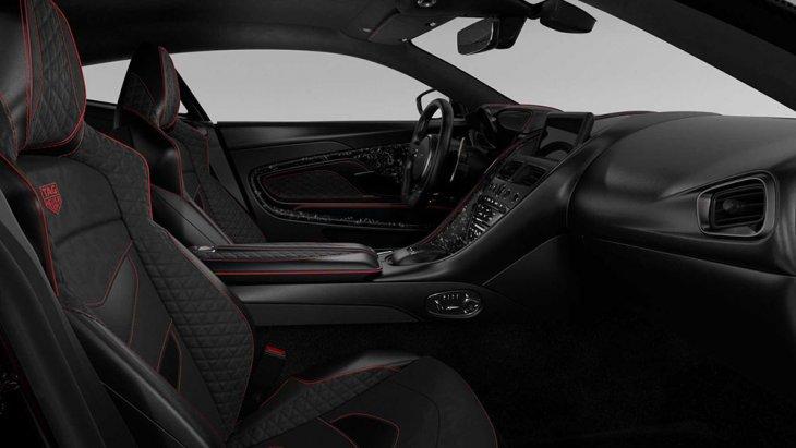 ภายในสปอร์ตหรูหราไสตล์ Aston Martin