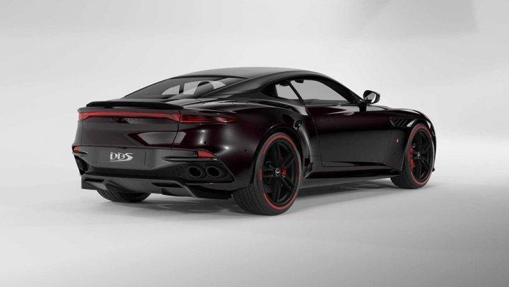 Aston Martin Superleggera TAG Heuer Edition มาพร้อมการตกแต่งที่พิเศษกว่าปกติด้วยสีตัวถัง Monaco Black คาลิปเปอร์เบรกสีแดง