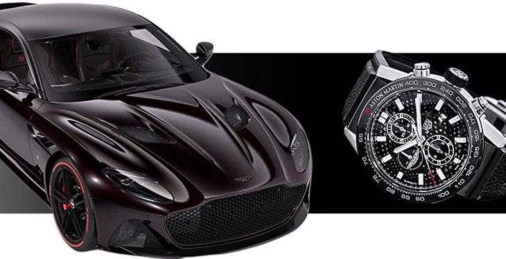 Aston Martin DBS Superleggera TAG Heuer Edition  ทีมีการตกแต่งให้ผสมผสานรถหรูกับนาฬิกาไฮเอนท์ให้เป็นหนึ่งเดียว