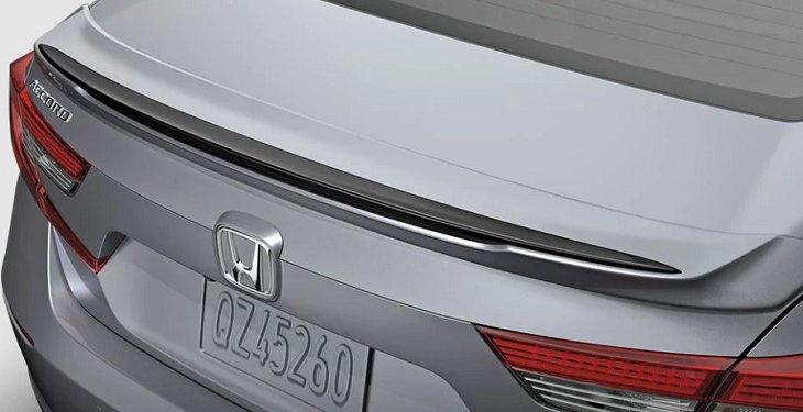 เพิ่มความเป็นสปอร์ตที่โฉบเฉี่ยวให้ Honda Accord 2019 ด้วยสปอยเลอร์ Decklid สีดำ
