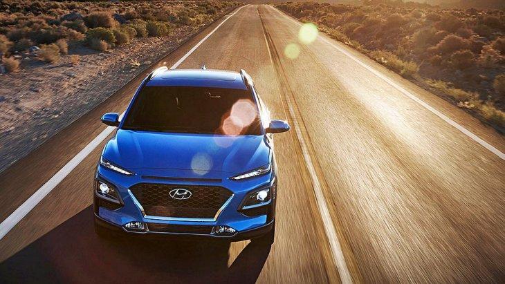 Hyundai Kona/ Kona EV รถ Crossover SUV ขนาดซับคอมแพกต์จากเกาหลี ระดับเดียวกับ Honda HR-V และ Toyota C-HR ครองตำแหน่งรถอเนกประสงค์ยอดเยี่ยมของอเมริกาเหนือ ปี 2019
