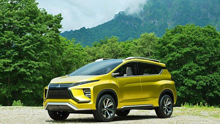 มาที่ Mitsubishi xm concept  รถไฟฟ้าขาลุยของ Mitsubhi EV Concept