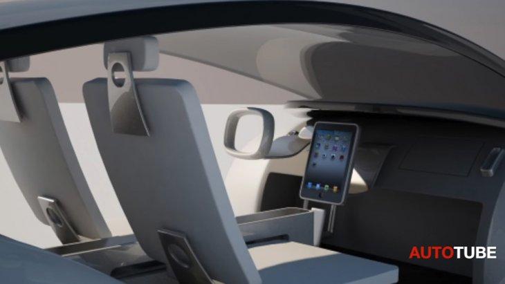 ห้องโดยสารภายในรถยนต์ ใน Project Titan ของ Apple