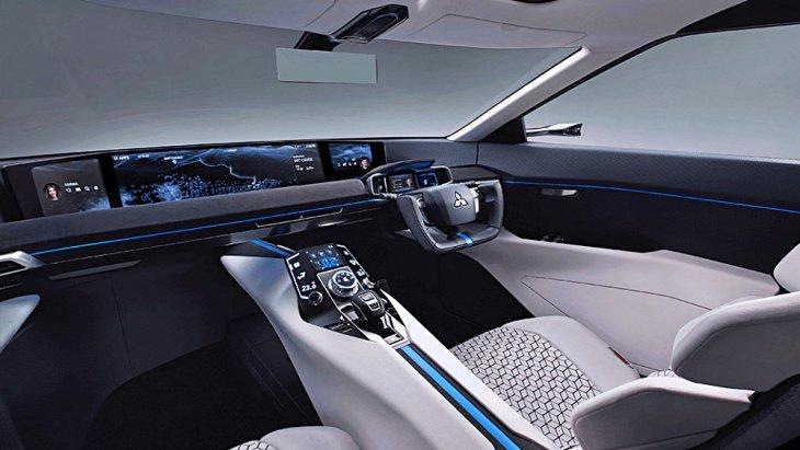 ห้องโดยสารมีความทันสมัยล้ำยุคตามไสตล์รถยนต์ Concept Car แห่งอนาคต