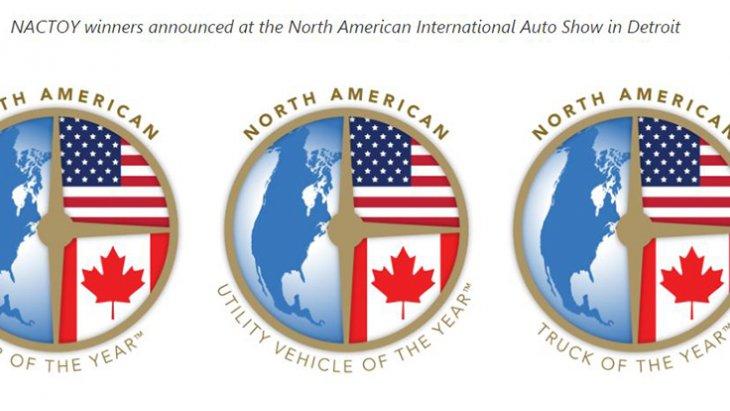 เครื่องหมายรับประกัน จาก North American Car of the Year