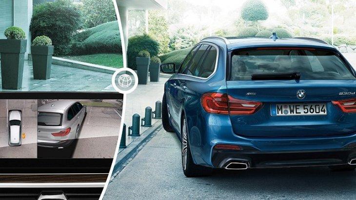 ระบบช่วยจอดรถพร้อมมุมมอง 3 มิติระยะไกล PDC ที่ช่วยให้คุณสามารถเข้าจอดได้อย่างง่ายดายและปลอดภัย