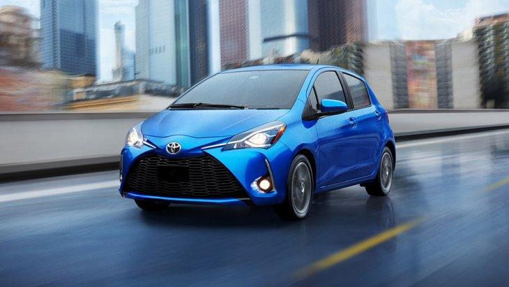 คือนำเอา All-new Mazda 2 ปี 2020 มาเปลี่ยนโลโก้และหน้าใหม่จำหน่ายต่อจากโฉมปัจจุบัน (ทั้งนี้ Mazda ในสหรัฐฯ ไม่มี Mazda 2 จำหน่ายทั้ง 2 รูปแบบตัวถัง หรือจะมองว่าจำหน่ายผ่านแบรนด์ Toyota กลาย ๆ ก็ได้)