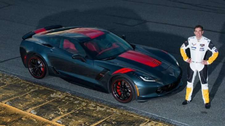 Chevrolet Corvette Grand Sport Drivers Series : Tommy Milner Edition ภูมิใจนำเสนอตัวถังสีเทาเข้ม