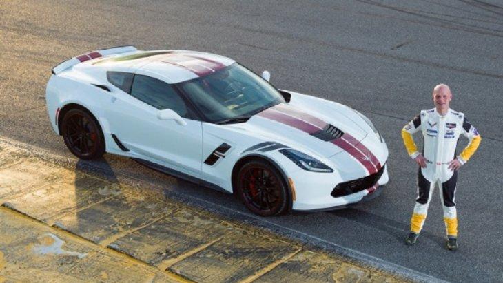 Chevrolet Corvette Grand Sport Drivers Series :  Jan Magnussen Edition นำเสนอตัวถังสีขาว Arctic White