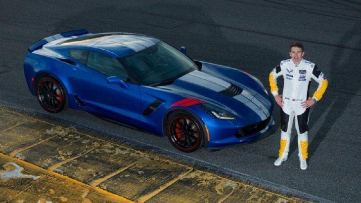 Chevrolet Corvette Grand Sport Drivers Series : Tommy Milner Edition มาพร้อมกับตัวถังสีฟ้า  Elkhart Lake Blue