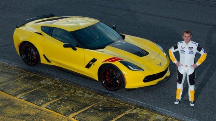 Chevrolet Corvette Grand Sport Drivers Series : Antonio Garcia Edition มาพร้อมกับตัวถังสีเหลือง Racing Yellow
