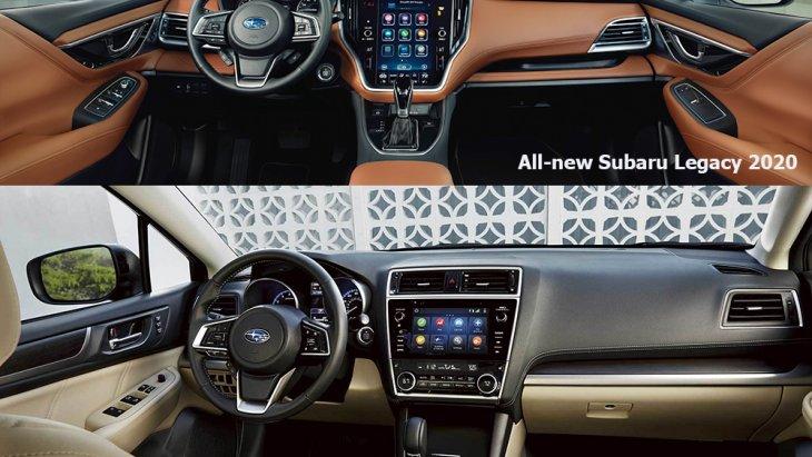 ภายใน All-new Subaru Legacy 2020 เข้าสู่ยุค Digitalization ในแบบ Tablet-Style