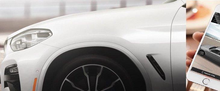 มุมมอง 3 มิติรอบทิศทาง แบบ 3D Surround View ช่วยให้คุณสามารถมองเห็นรถยนต์ BMW X3 2019 จากระยะไกลบน BMW Connected App เพื่อให้คุณมั่นใจรถยนต์ BMW X3 2019 ปลอดภัยจากการโจรกรรม