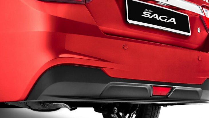 เพิ่มความสง่างามและโดดเด่นให้กับด้านหลัง PROTON THE NEW SAGA ด้วย Rear Diffuser