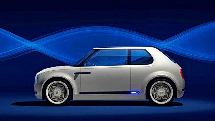 เหมือนดึง Honda Civic เจเนอเรชั่นแรกกลับมาสู่ยุคที่รถยนต์พลังงานไฟฟ้ากำลังจะครองโลก