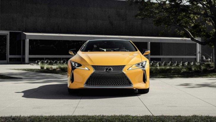 Lexus LC 500 2019 รุ่น Inspiration Series มาพร้อมตัวถังสีเหลือง