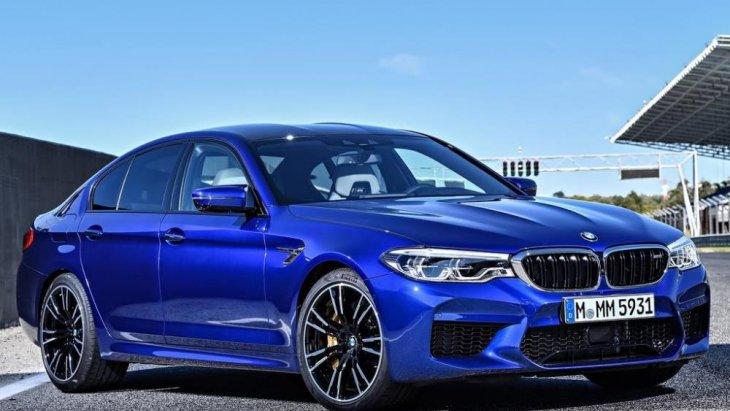 BMW M5 หนึ่งในซีรีส์ที่มีสมรรถนะสูงของ BMW