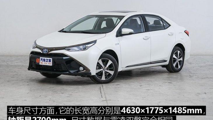 Toyota Levin เวอร์ชั่นที่สปอร์ตกว่า Toyota Corolla ในจีน และยังเตรียมเปิดตัวรุ่น Plug-in Hybrid ขณะที่ทั่วโลกเห่อ All-new Toyota Corolla 2019 หรือ Toyota Altis 2019 โฉมใหม่ในไทย