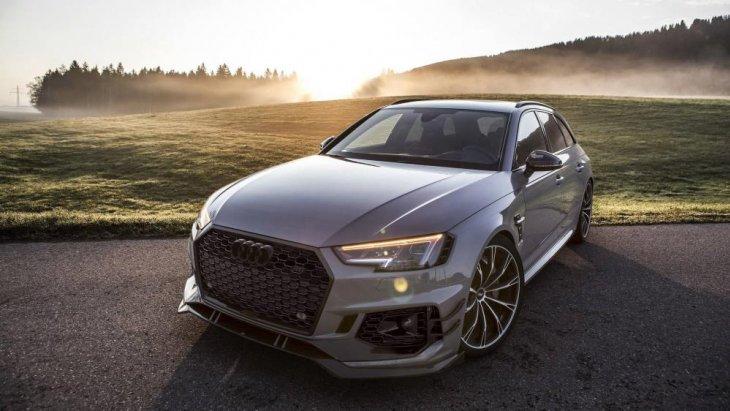 """audi  ABT Sportsline จัดให้เปิดตัว """"Audi RS4 Avant"""" ในงานที่ Geneva Motor Show ครั้งที่ผ่านมา"""