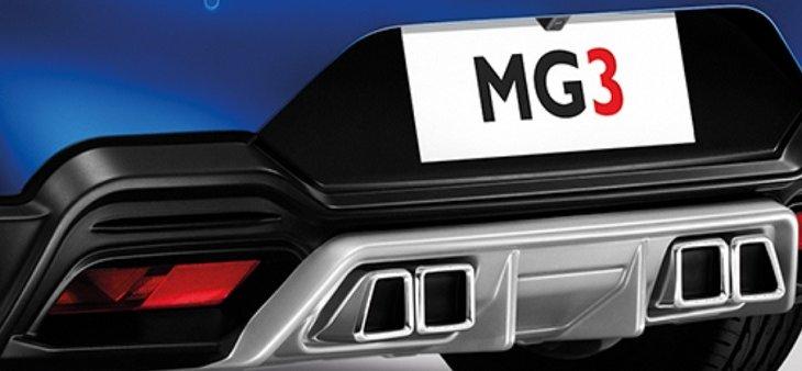 สเกิร์ตหลัง ALL NEW MG3 สไตล์สปอร์ตก็สวยโฉบเฉี่ยวไม่แพ้กัน