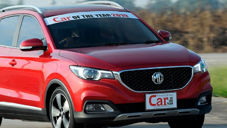 รถยนต์ New-MG-ZS ได้รับรางวัล BEST SUV UNDER 1,600 c.c.
