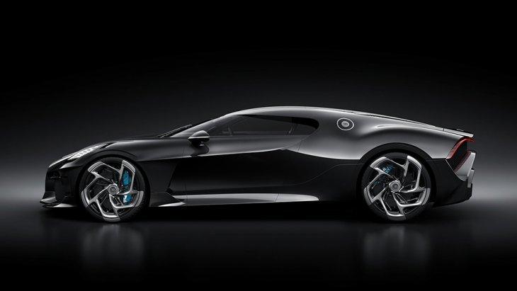 โดยเป็นการตีความและระลึกถึงรถ Bugatti Type 57 SC Atlantic ปี 1936 หรือ La Voiture Noire คันสีดำที่หายไปอย่างไร้ร่องรอย