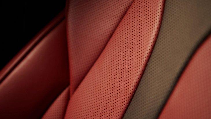 สีภายในของ Lexus UX