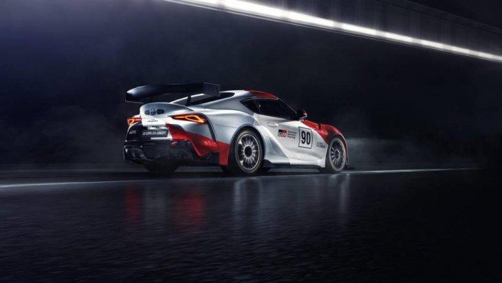 Toyota GR Supra GT4 Concept ได้รับการพัฒนาโดย Toyota Gazoo Racing