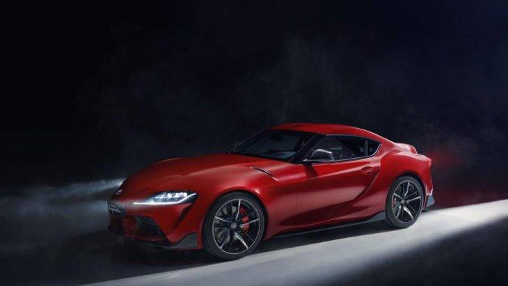 GR Supra GT4 Concept จะมีมิติรถที่ยาวเเละต่ำ
