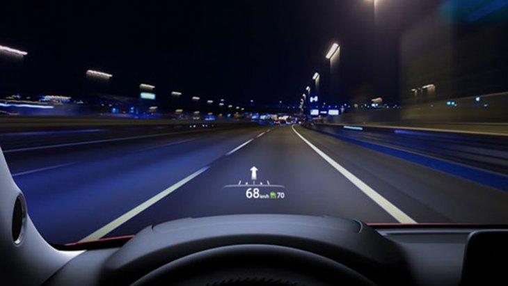 นวัตกรรมหน้าจอ Active Driving Display ที่สามารถแสดงภาพข้อมูลการขับขี่ ระดับความเร็วและระบบนำทาง Navigation ในระดับสายตาบนกระจกด้านหน้า