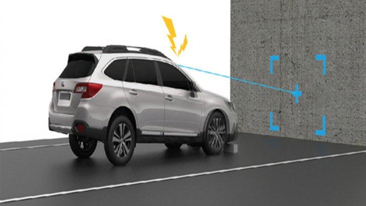 Subaru Forester ติดตั้งเทคโนโลยี Subaru Eyesight ที่สามารถช่วยลดอัตราการชนกับรถคันหน้าได้มากถึง 86 เปอร์เซ็นต์