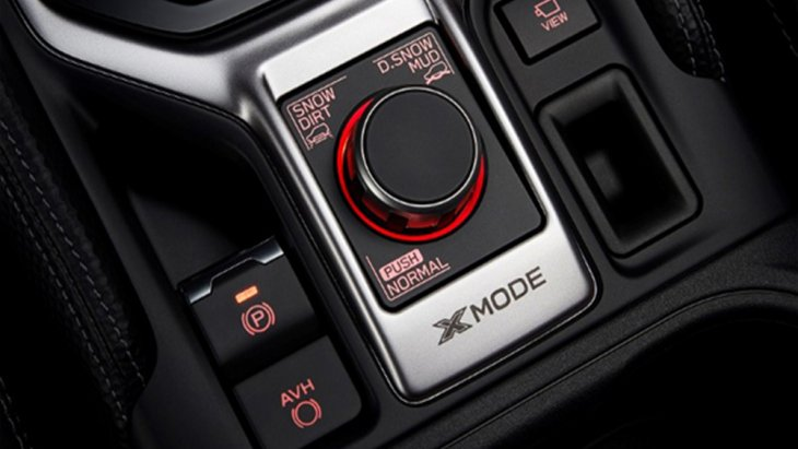 Subaru Forester 2019 ติดตั้งระบบขับขี่แบบ X-Mode มีให้เลือกใช้ 2 โหมดด้วยกัน ได้แก่ โหมด SNOW/DIRT และ โหมด DEEP SNOW/MUD