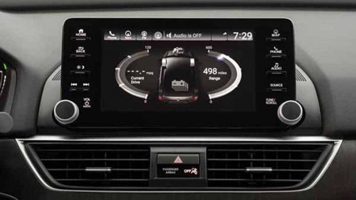 ฮอนด้า แอคคอร์ด 2019 ให้ความบันเทิงผ่านระบบอินโฟเทนเมนท์บนหน้าจอระบบสัมผัสขนาด 8 นิ้ว รองรับ Apple Carplay , Android Auto และ เชื่อมต่อข้อมูลไร้สายผ่านสัญญาณบลูทูธ