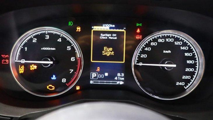 Subaru Forester 2019 ติดตั้งหน้าจอแสดงผลข้อมูลการขับขี่แบบ MID ขนาดใหญ่สามารถแสดงการตั้งค่าของระบบต่างๆภายในรถได้อย่างเด่นชัด