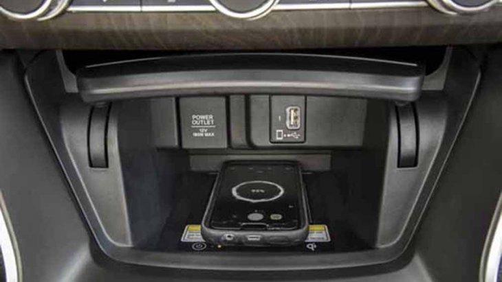 Honda Accord 2019 ติดตั้งระบบชาร์จไฟสมาร์ทโฟนแบบไร้สาย Wireless Smartphone Charger
