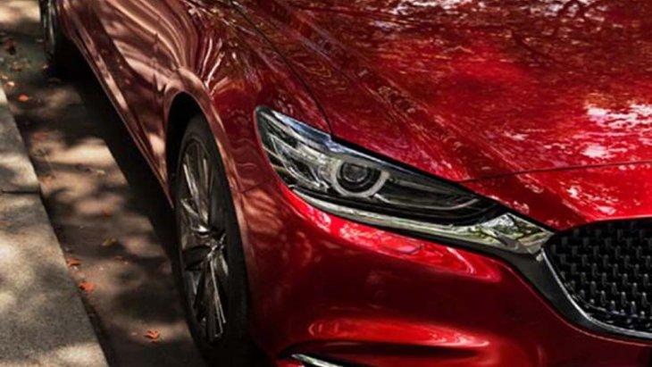 Mazda 6 2019 ได้รับการติดตั้งไฟหน้าแบบโปรเจคเตอร์ LED ประสานการทำงานร่วมกับไฟส่องสว่างกลางวันแบบ DRL