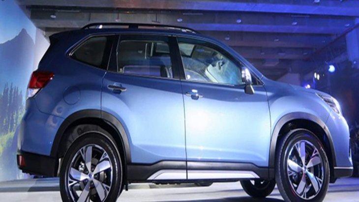 Subaru Forester MY2019 ถูกปรับโฉมให้มีรูปร่างที่ปราดเปรียวมากยิ่งขึ้นส่งผลให้ช่วยลดแรงต้านตามหลักอากาศพลศาสตร์และยังช่วยเพิ่มการประหยัดน้ำมันอีกด้วย