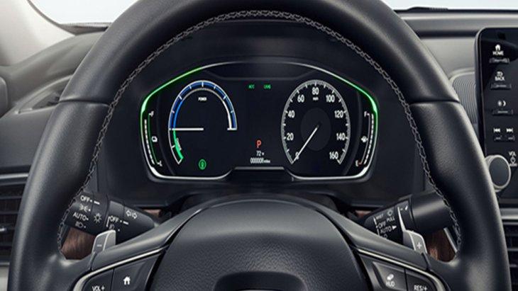 Honda Accord 2019 ติดตั้งหน้าจอแสดงผลข้อมูลการขับขี่พร้อมมาตรวัดเรืองแสงแบบ TFT ขนาด 7 นิ้ว