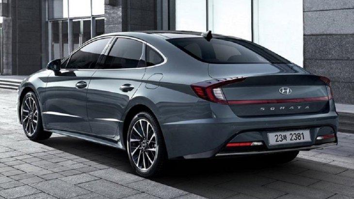 All-new Hyundai Sonata 2019 โฉมใหม่ ถูกออกแบบให้มีลักษณะคล้ายกับรถคูเป้ 4 ประตู
