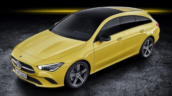 Mercedes-Benz CLA Shooting Brake ถูกพัฒนาต่อมาจากรุ่นคูเป้ 4 ประตู
