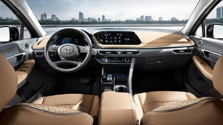 ภายในห้องโดยสารของ All-new Sonata 2019 ใหม่ ถูกตกแต่งภายในให้ความรู้สึกพรีเมียม