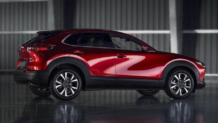 Mazda CX-30 ถูกพัฒนาขึ้นบนพื้นฐานเดียวกับ  Mazda3