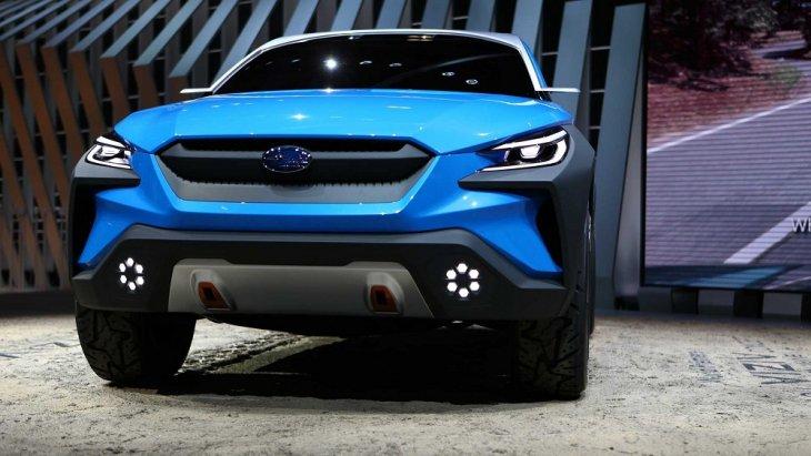 ต้นแบบรถครอสโอเวอร์ที่เผยให้เห็นแนวทางการออกแบบใหม่ของซูบารุ