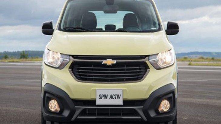 Chevrolet Spin 2019 เพิ่มความโฉบเฉี่ยวด้วยกระจังหน้าแบบ Dual Port สีดำเงาทรงคลาสสิก กันชนหน้าพร้อมช่องดักลมขนาดใหญ่ ไฟหน้าแบบใหม่ล่าสุดติดตั้งระบบ Follow-Me-Home ติดตั้งไฟตัดหมอกทั้งด้านหน้า และ ด้านหลัง