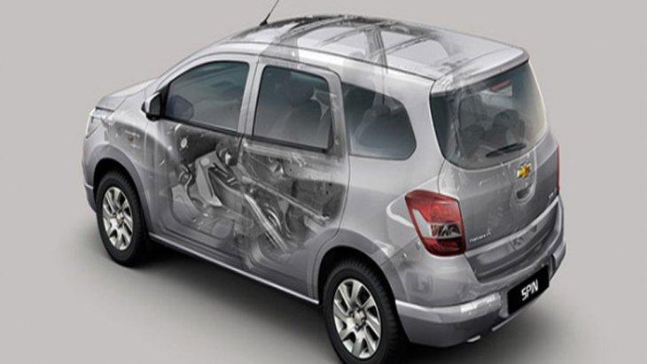 Chevrolet Spin ล้ำหน้าด้วยการติดตั้งเทคโนโลยีวัสดุซับเสียงรบกวนและแรงสั่นสะเทือน (NVH) ช่วยให้ภายในห้องโดยสารมีความเงียบสงบมากขึ้น