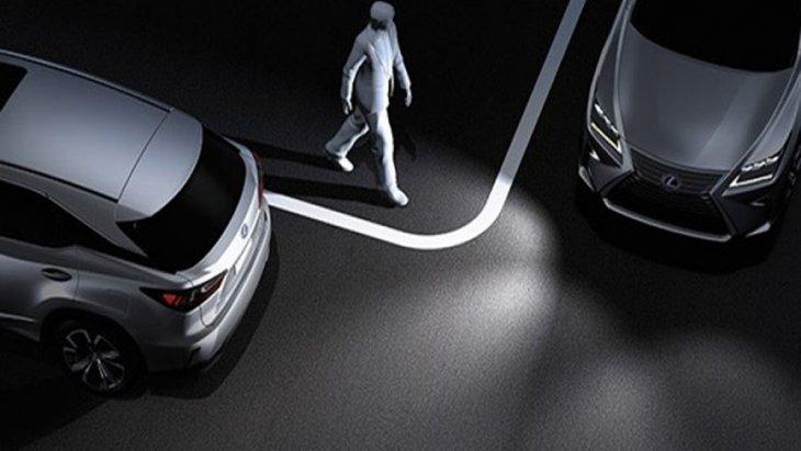 Lexus RX 450h 2019 มอบความปลอดภัยให้แก่ผู้ขับขี่ในทุกเส้นทางด้วยระบบเตรียมพร้อมก่อนการชน Pre-crash Safety System พร้อมระบบควบคุมการทรงตัวของรถแบบ VSC และระบบไฟส่องสว่างด้านมุมของตัวรถ
