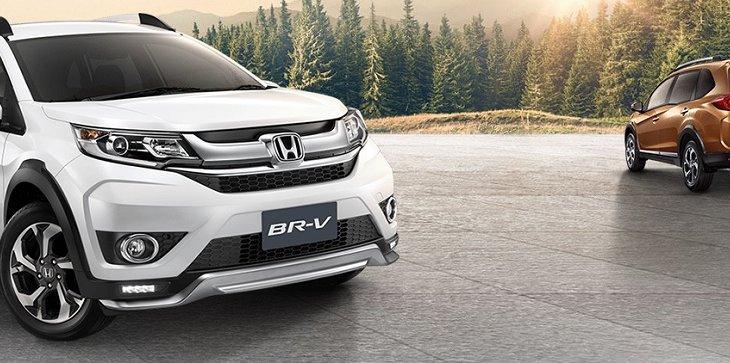 HONDA BR-V รถยนต์อเนกประสงค์ที่มาพร้อมกับดีไซน์สวยสไตล์สปอร์ต ราคา HONDA BR-V เริ่มต้นที่ 755,000 บาท