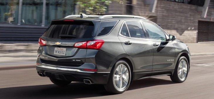 Chevrolet Equinox 2019 สวยโฉบเฉี่ยวในทุกมุมมอง