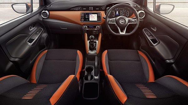 ภายใน ถอดแบบมาเหมือน Nissan March Micra 2020