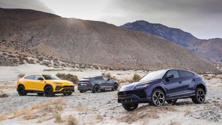 Lamborghini Urus 2019 Sport SUV คันแรกของโลก